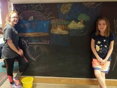 chalk wall_square